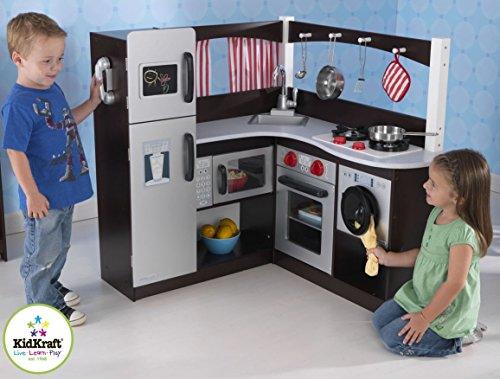 Kidkraft Grand Espresso Corner Kitchen