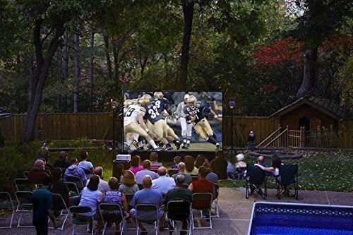 10' Backyard Theater System W/Optoma Projector+WiFi