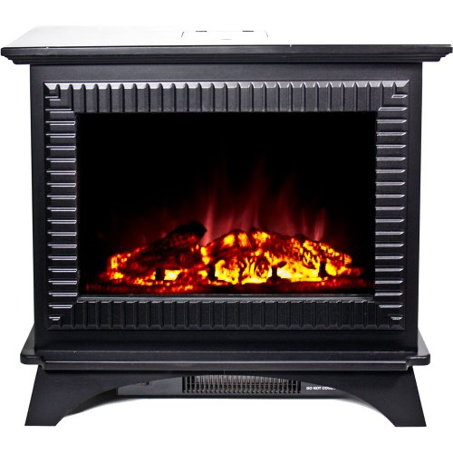 Frigidaire BMSF-10311 Boston Cast Iron Floor Standing Electric Fireplace - Black image