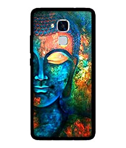 Chnno 2d buddha Printed Back Cover For Huawei Honor 5C No- 1727