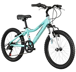 Amazon.com : Diamondback Bicycles 2014 Lustre Girl's Mountain Bike (20