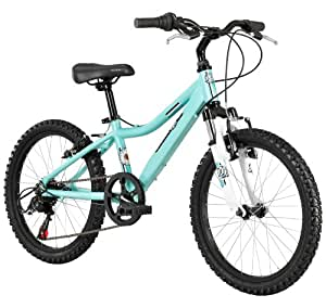 Mountain Bike (20-Inch Wheels), One Size, Green : Hardtail Mountain