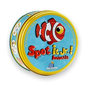 Spot It Junior Animals from BLUE ORANGE GAMES
