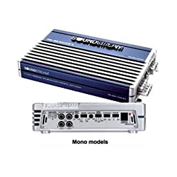 Soundstream RUB1.700 1x400 Mono Block Amplifier (Blue)