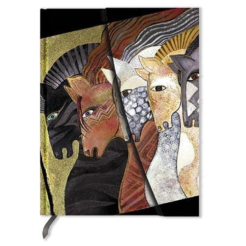 laurel-burch-marokkanisches-reiterfest-notizbuch-midi-liniert-paperblanks