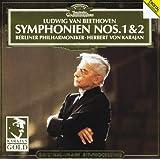 Beethoven: Symphonies Nos.1 & 2 : Karajan