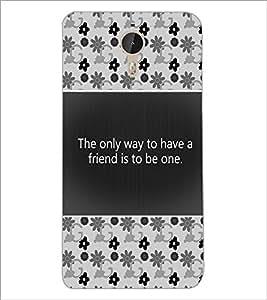 PrintDhaba Quote D-4682 Back Case Cover for LETV (LE ECO) LE 1 PRO (Multi-Coloured)