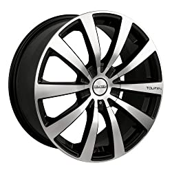 20×8.5 Touren TR3 (3130) (Black w/ Machined Face) Wheels/Rims 5×112/115 (3130-2806M)