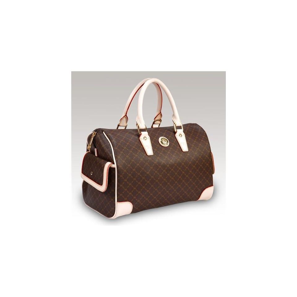 442db4cee5e8 Rioni Aristo (Brown) Large Boston Bag St 20015 on PopScreen