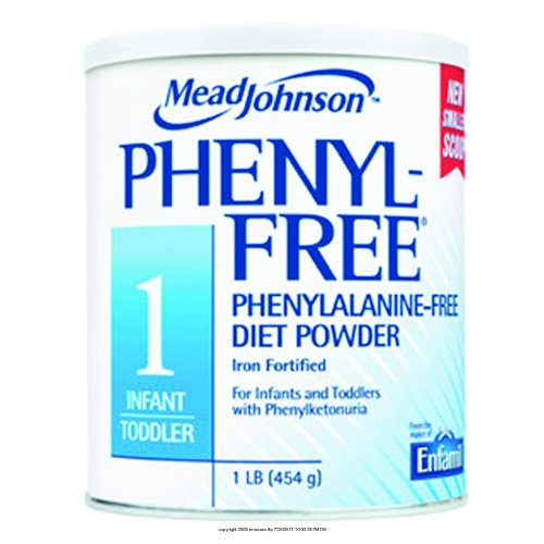 Phenyl-Free 1 Infant Formula, Phenyl Free 1 Pwdr, (1 Each, 1 Each)