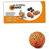Blackroll Orange Selbstmassagerolle blackBALL-orange Selbstmassage-Ball inkl. Übungs-Booklet, 12 cm, 8050090