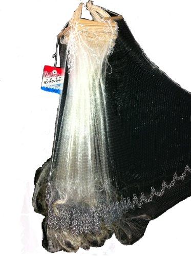 ナイロン巻刺網 6分目25m 60cm高