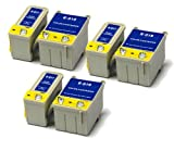 Epson Stylus 680 Colour x6 Compatible Printer Ink Cartridges (3x Black & 3x Colour)
