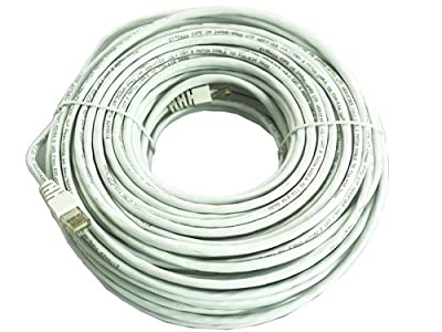 LaView LVA-NC125W LaView 125-Feet Premade Cat5 Network Cable (White)