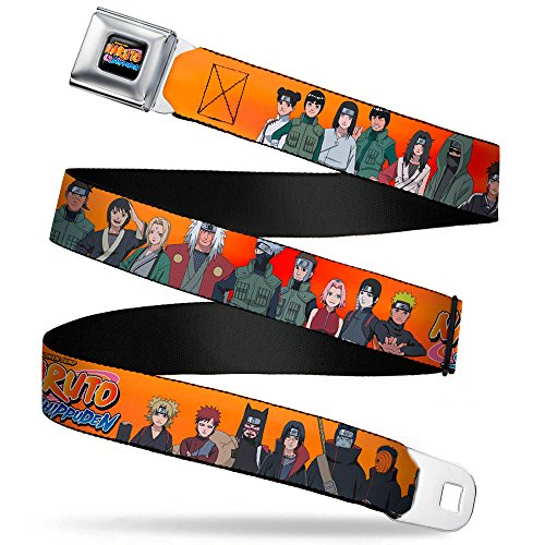 Naruto Character Group Orange Seatbelt Mesh Belt (Nra Belt Buckle compare prices)