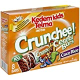 Kedem Kids Breakfast Cereal Bars, Crunchee Coco Rice Cereal Bars, 8-Count 5.9-Ounce Boxes (Pack Of 6)