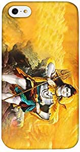 Timpax Light Weight Hard Back Case Cover Printed Design : her her mahadev .Exactly Design For : Apple iPhone 4 / 4S