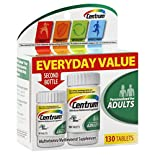 Centrum Multivitamin/Multimineral, Adults, Tablets, 130 tablets