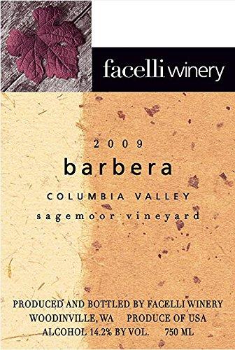 2009 Facelli Winery Sagemoor Vineyard Barbera 750 Ml