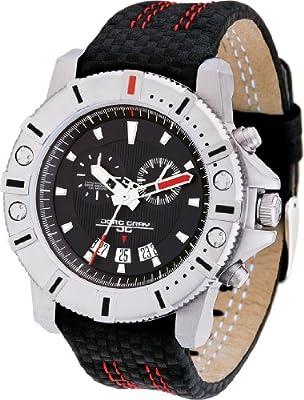 Jorg Gray 9500 Men's Silver Swiss Chronograph Watch