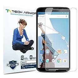 Tech Armor Google Nexus 6 Anti-Glare/Anti-Fingerprint (Matte) Screen Protectors [3-Pack] Lifetime Warranty