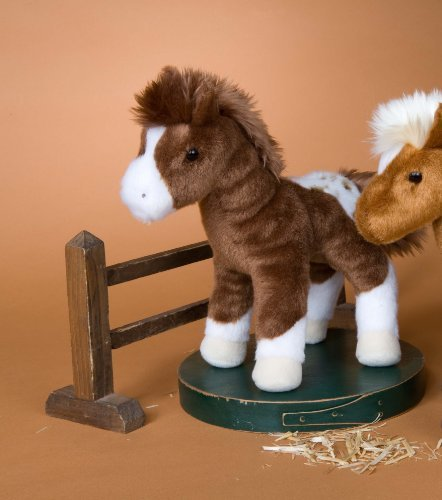 "Warrior Appaloosa Horse 9"" by Douglas Cuddle Toys"