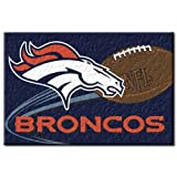 "Denver Broncos NFL Tufted Rug (30""x20"")"