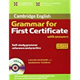 "Cambridge Grammar for First Certificate / 2nd Edition. Edition with answers and Audio-CDvon ""Louise Hashemi"""