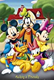 Mickey Mouse and Friends New 24x36 Poster Art Print