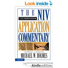 1 and 2 Thessalonians (The NIV Application Commentary)