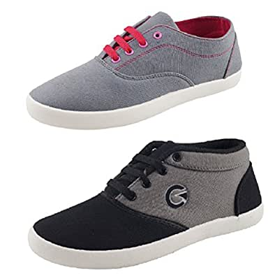 Globalite Women's Combo Of 2 Casual shoes GSC1128_1170DUB ...