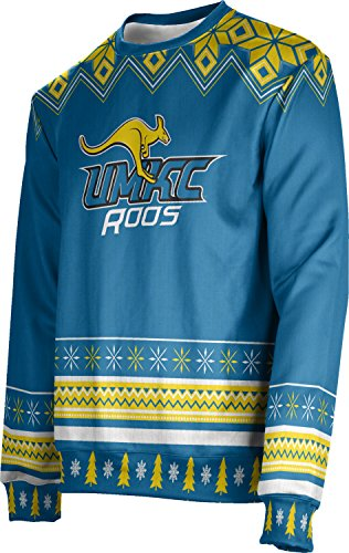 ProSphere Adult University of Missouri-Kansas City Ugly Holiday Festive Sweater