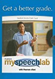 echange, troc  - Myspeechlab with Pearson Etext Student Access Code Card for Public Speaking: Finding Your Voice (Standalone)