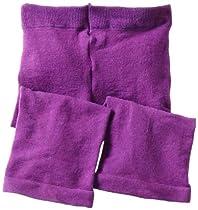 Jefferies Socks Baby-girls Infant Capri, Purple, 18-24 Months