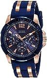 Guess W0366G4 - Reloj de pulsera hombre, Silicona, color Azul