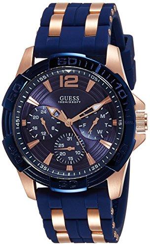 guess-w0366g4-reloj-de-pulsera-hombre-silicona-color-azul