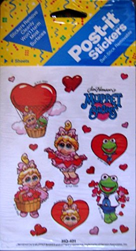 Muppet Babies Post-it Stickers - 1
