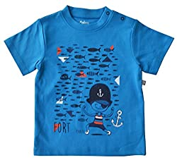 Short Sleeve T-Shirt With Print 100% Cottn Single Jersey (Fit To 68-74 Cms)