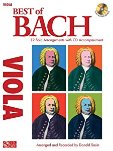 Best Of Bach Viola Solos Bookcd by Cherry Lane
