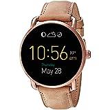 Fossil Q Wander Touchscreen Light Brown Leather Smartwatch