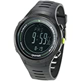 Docooler 5ATM Multifunctional Sports Watch Altimeter Barometer Thermometer Digital Compass Weather Forecast Pedometer