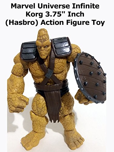 "Review: Marvel Universe Infinite Korg 3.75"" Inch (Hasbro) Action Figure Toy"