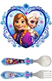 Disney Frozen Anna & Elsa Placemat and Flatware Set