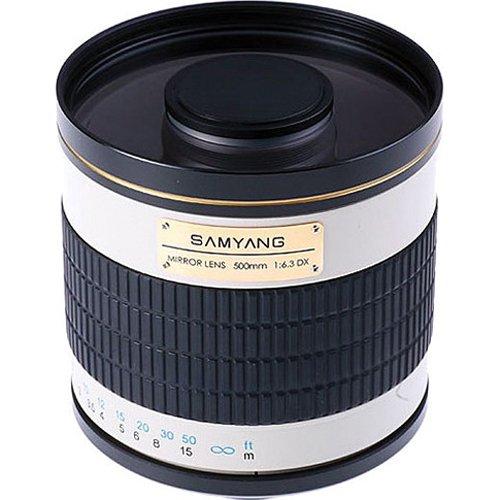 Samyang 500Mm F/6.3 Mirror Lens (White) (T Mount)