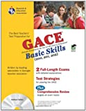 img - for Georgia GACE Basic Skills w/ CD-ROM (Georgia GACE Test Preparation) book / textbook / text book