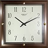 Rikon Quartz Plastic Square Shape 27 Cm X 27 Cm Fancy Premium Home Decor Wall Clock For Home And Office R-417...