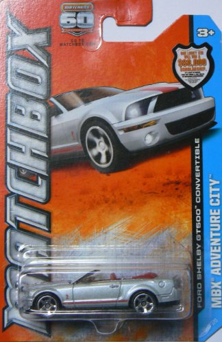 Matchbox Mbx Adventure City Ford Shelby Gt500 Convertible - 1