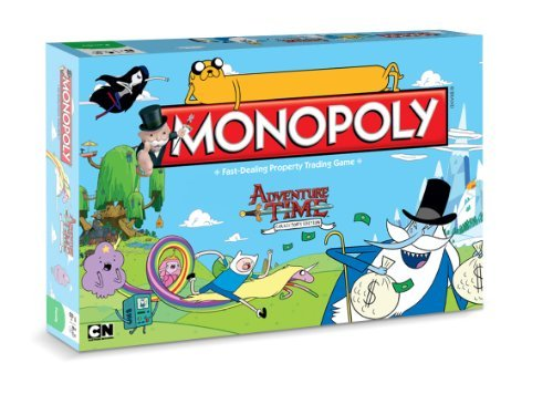 Adventure Monopoly Board Game