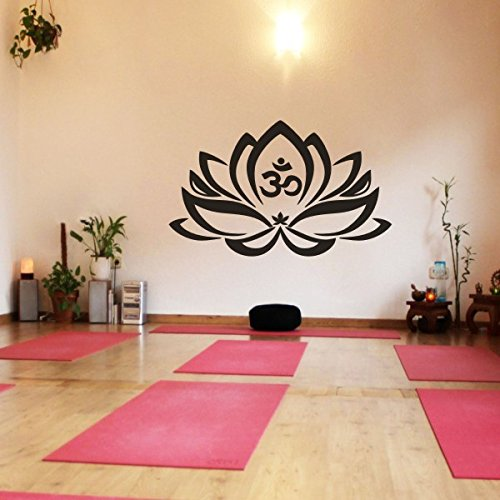 floral-decor-lotus-flower-with-om-sign-yoga-wall-vinyl-mandala-art-stickerx-largeblack