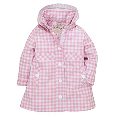 Hatley Pink Gingham Splash Jacket